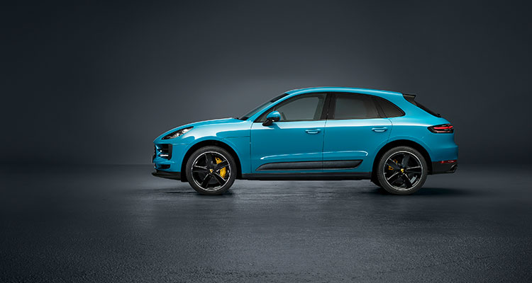 Porsche Macan facelift side 2