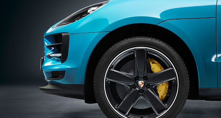 Porsche Macan facelift wheel arch 3
