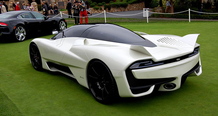 SSC Tuatara rear view