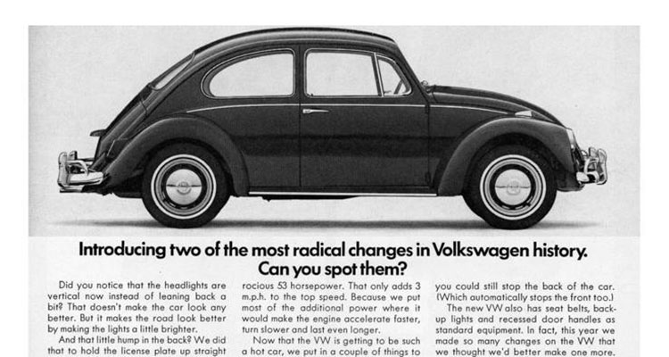 The Crazy VW Ads Of The 60s 6