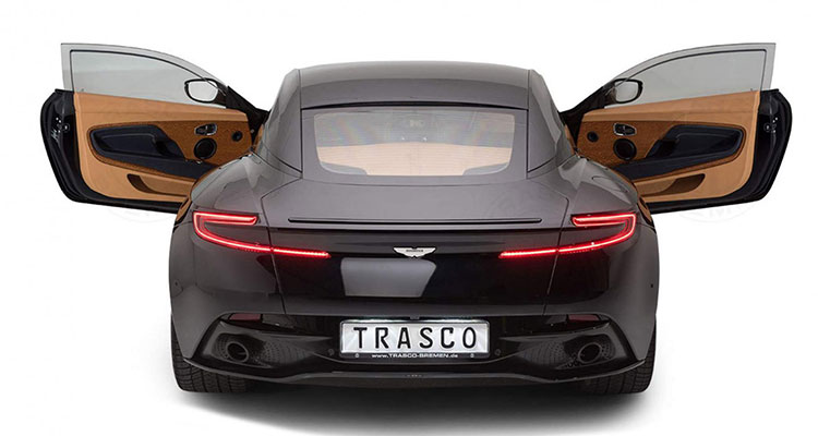Trasco Armoured Aston Martin DB11 rear 4