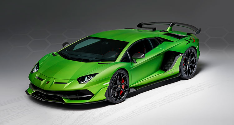 Lamborghini Aventador full body shot