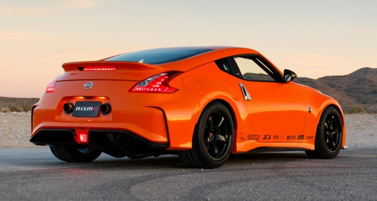 400bhp Nissan 370z rear side 2