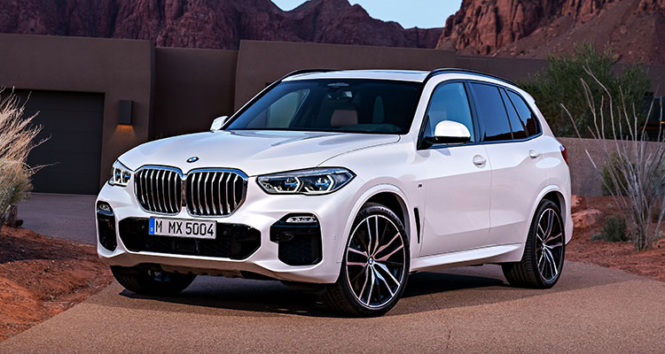 BMW X5 2018 front side