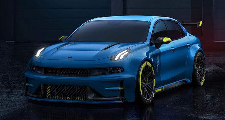 Lynk & Co Hint at 500bhp Hot Saloon Racer front