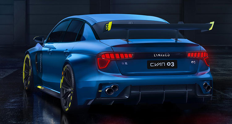 Lynk & Co Hint at 500bhp Hot Saloon Racer back
