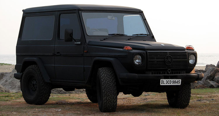 Mercedes-Benz G-Wagon 6