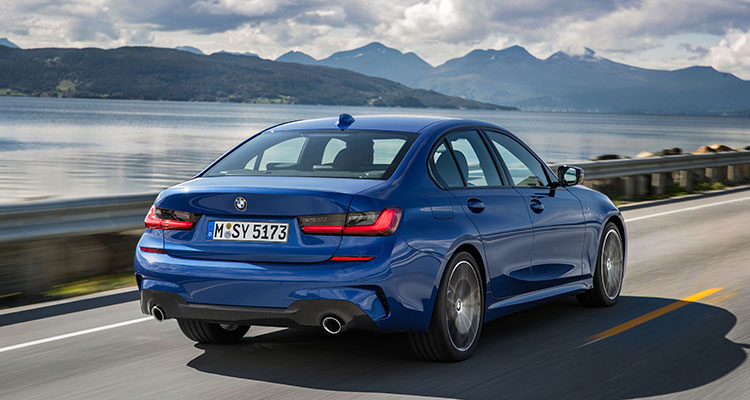 NEW BMW 3 SERIES REAR SIDE 1