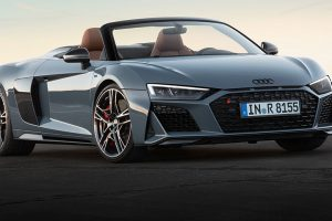 New Audi R8 feature