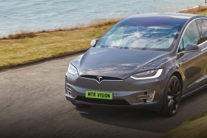 Should EVs Have Green Number Plates - Tesla Model X