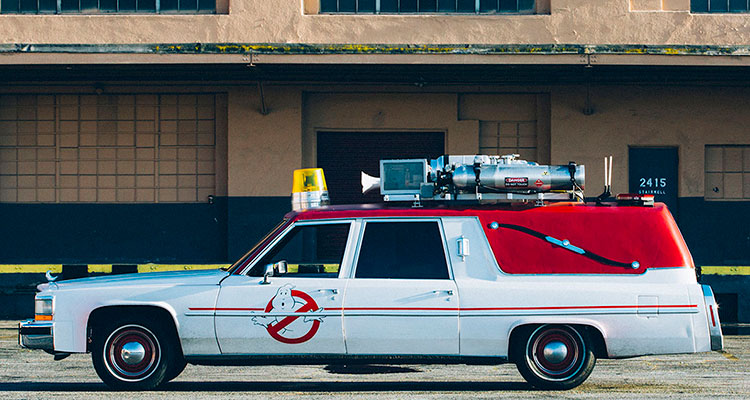 ecto 1 ghostbusters 1984