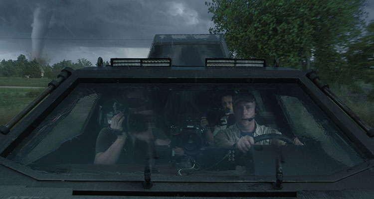 into the storm movie Titus storm vehicle
