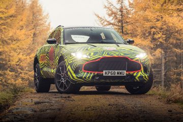 Aston Martin DBX Prototype feature