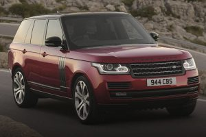Range Rover SV feature