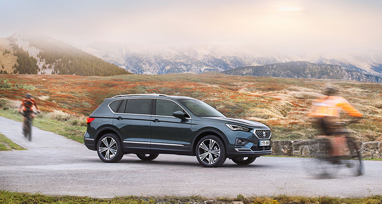 SEAT Tarraco 2019 side 2