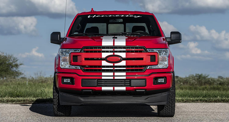 hennessey heritage edition f-150 pickup front 1