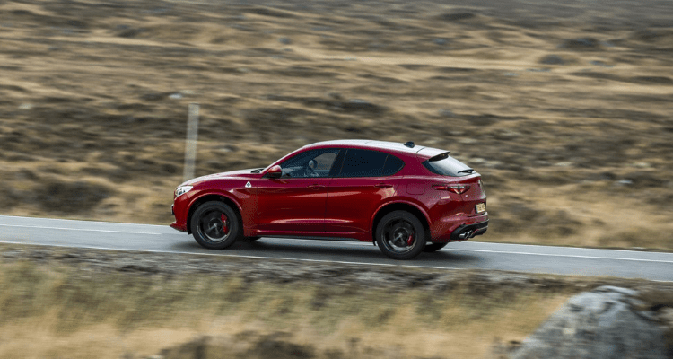 special edition Stelvio Quadrifoglio left side