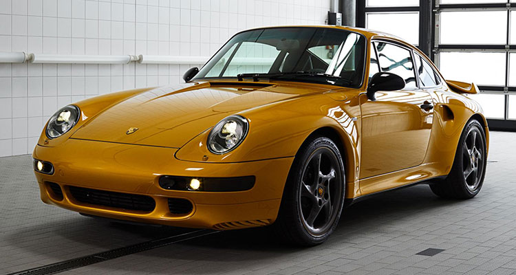 porsche project gold 993 turbo 911 classic front