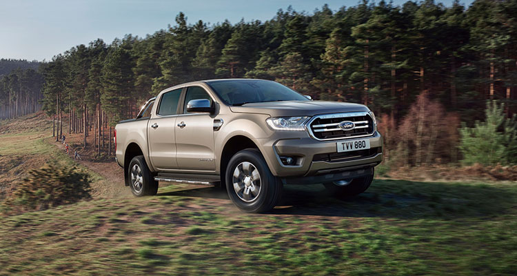 2019 Ford Ranger Limited front side 1
