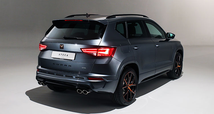 CUPRA Ateca 2019 rear 2