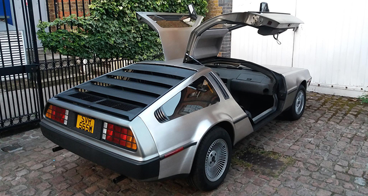 DeLorean DMC12 4