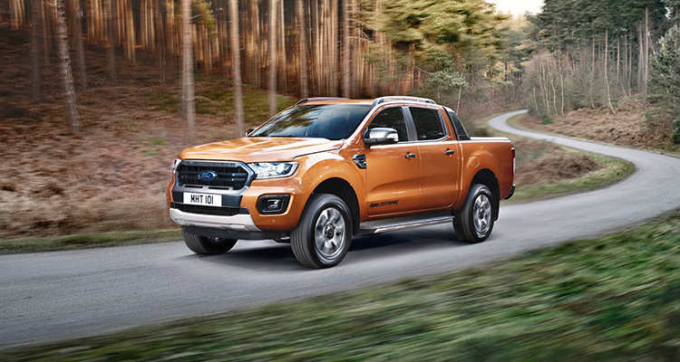 Ford Ranger Wildtrak 2019 front side 1