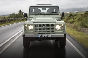 Land Rover Defender front feature