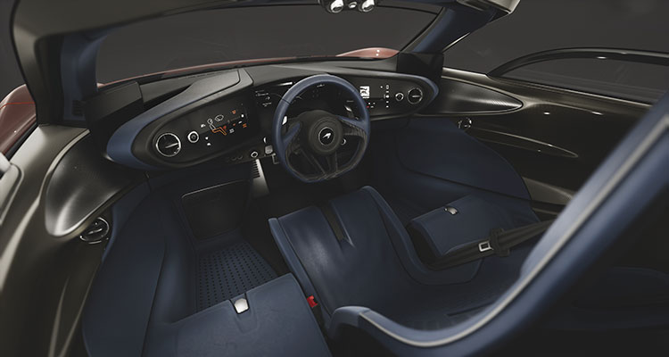 McLaren Speedtial Astral interior