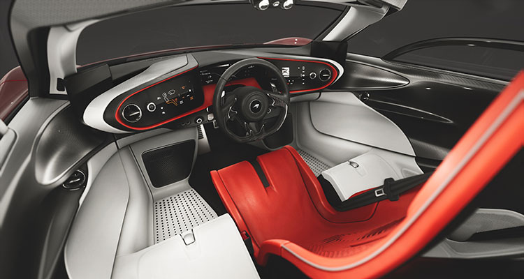 McLaren Speedtial Bloodline interior