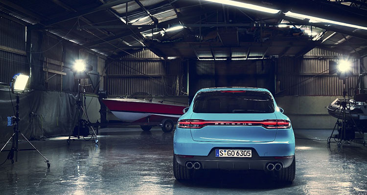 Porsche Macan Facelift 2019 rear 1