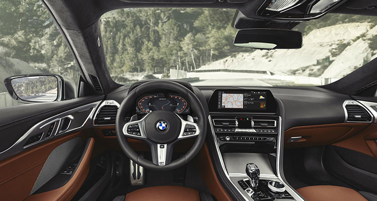 BMW 8 SERIES INTERIOR 4