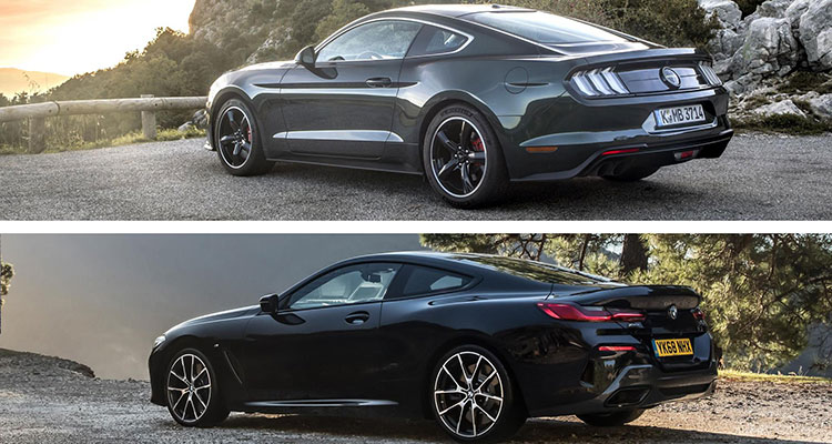 Did the BMW 8 Series Copy The Mustang 1