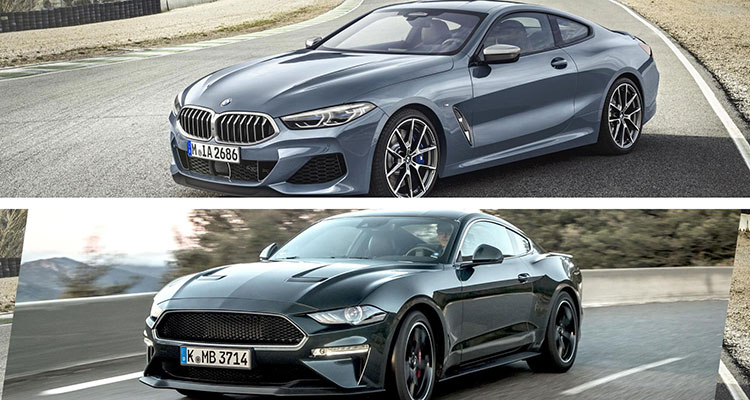 Did the BMW 8 Series Copy The Mustang 3