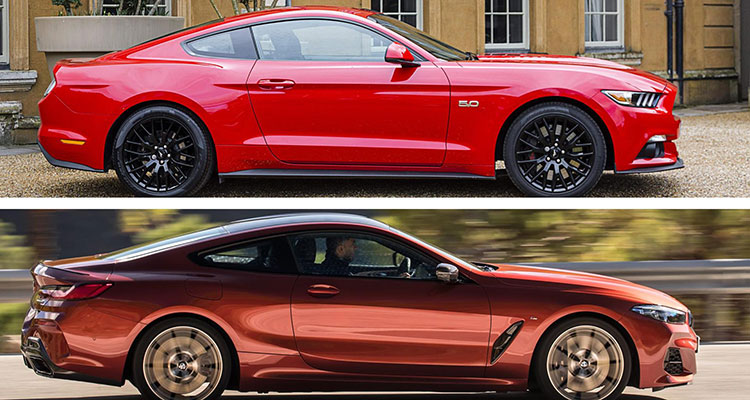 Did the BMW 8 Series Copy The Mustang 6