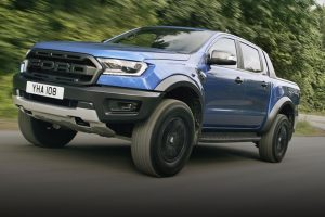 Ford Ranger front side feature