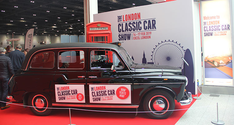 London Classic Car Show 2019