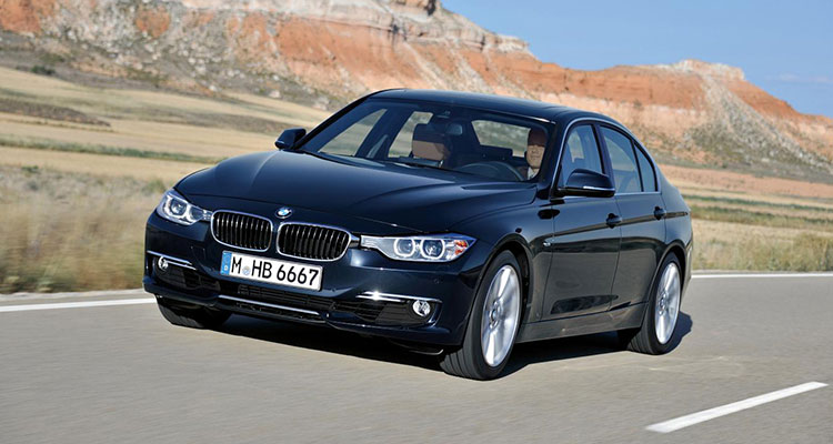 Top 10 Most Stolen Cars - BMW 3 Series 1