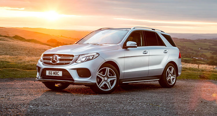 Top 10 Most Stolen Cars - Mercedes-Benz GLE 5
