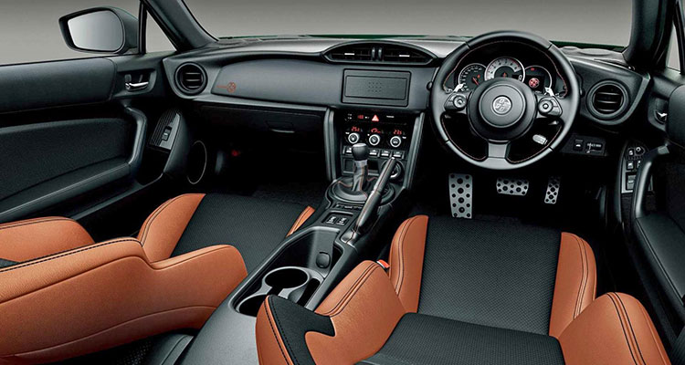 Toyota GT86 British racing green limited edition interior tan 2