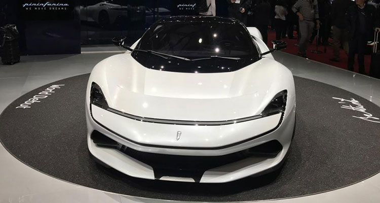Electric Automobili Pininfarina Battista front 1
