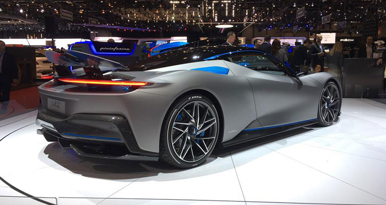 Electric Automobili Pininfarina Battista rear 1