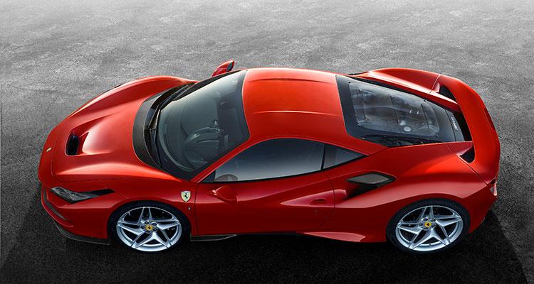 Ferrari F8 Tributo sports car 4