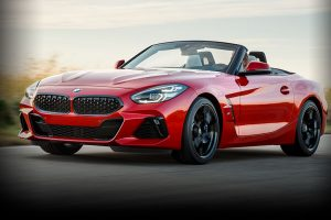 New BMW Z4 2019 front side feature