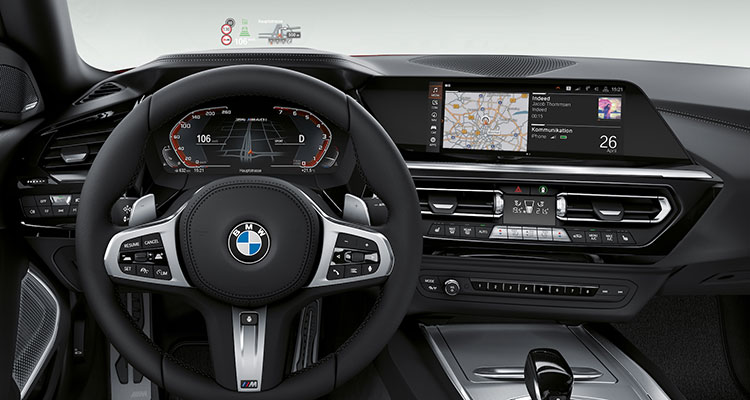 New BMW Z4 interior 1