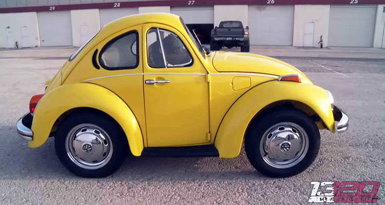 Shortened VW Noddy Beetle side 1