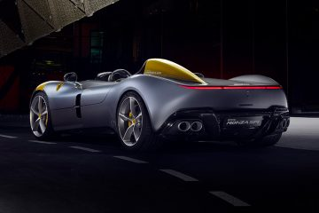 Ferrari Monza SP1 side rear feature