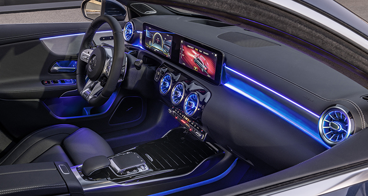 Mercedes-AMG A 35 4MATIC Saloon interior 5