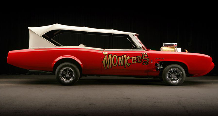 Monkeemobile the monkees Pontiac GTO 6