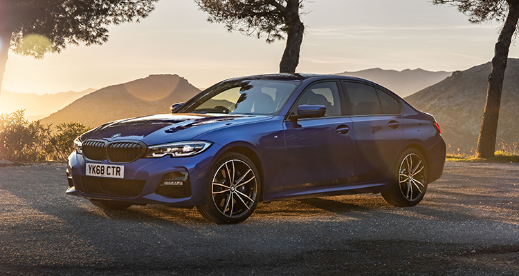 New BMW 3 Series Saloon 2019 4