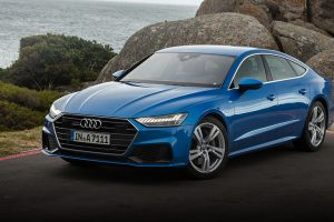 Audi A7 Kapstadt 2018 blue feature